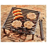 Guide Gear Cast Iron Camp Grill - 624063, Stoves at Sportsman's Guide