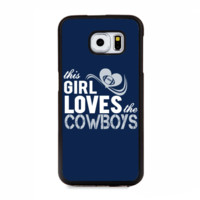 This Girl Loves The Cowboys Phone Case For Samsung & iPhone