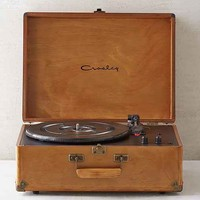 Crosley X UO AV Room Wood Portable USB Vinyl Record Player