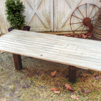 Table, barn door table, coffee table, farmhouse, shabby chic, furniture, painted furniture