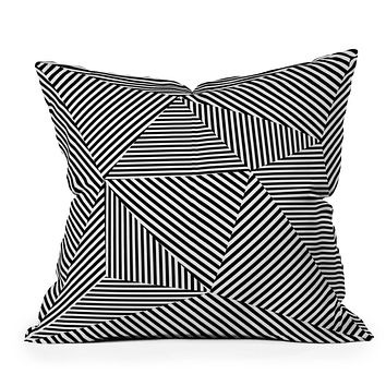 Three Of The Possessed Dazzle Apartment Throw Pillow
