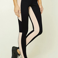 Active Contrast-Paneled Leggings