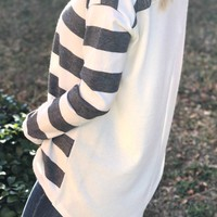 When I'm With You Striped Top