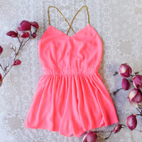 Ancient Rose Romper in Pink