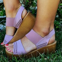 Make A Difference Wedges: Mauve