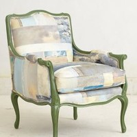 Antwerp Chair by Swarm Blue Motif One Size Furniture