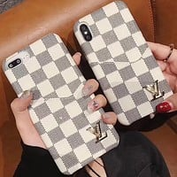 Louis Vuitton LV Phone Cover Case For iPhone 7 7plus 8 8plus X iPhone XR XS MAX 11 Pro Max 12 mini 12 Pro Max