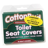 Cotton Buds Toilet Seat Covers