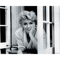 Marilyn Monroe Window Celebrity Poster by Sam Shaw