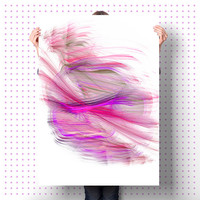 Abstract Wall Art   Digital Print   Purple DIY Home Decor   Unique Gift   Apartment Warming Gift