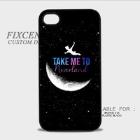 Peter Pan Take Me To Neverland Plastic Cases for iPhone 4,4S, iPhone 5,5S, iPhone 5C, iPhone 6, iPhone 6 Plus, iPod 4, iPod 5, Samsung Galaxy Note 3, Galaxy S3, Galaxy S4, Galaxy S5, Galaxy S6, HTC One (M7), HTC One X, BlackBerry Z10 phone case design