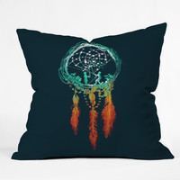 Budi Kwan Dream Catcher Throw Pillow