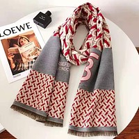 BURBERRY Autumn Winter Newest Warm Cape Scarf Scarves Accessories