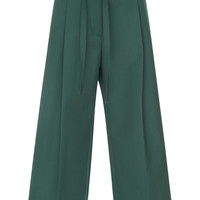 Wide Coulotte With Belt | Moda Operandi