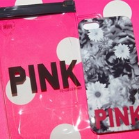 New Victorias Secret Pink Floral Iphone 5 Case Cover. Cute. Sold Out