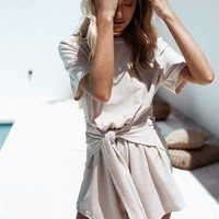 Silver Speck Playsuit - Playsuits by Sabo Skirt