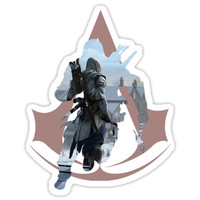 'Assassin's Creed: Connor' Sticker by MattleeD