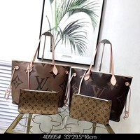 8-20【New Products】M40995 counter with the same paragraph New Louis Vuitton negativel medium handbag
