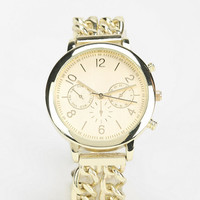 Chainlink Menswear Watch - Urban Outfitters