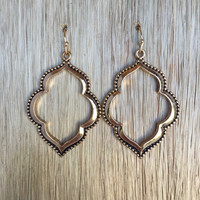 Mandana Lantern Earrings In Gold