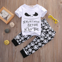 Nightmare Before Nap Time - Two Piece Set