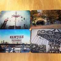 Set of 4 Brooklyn Photo Art Magnets