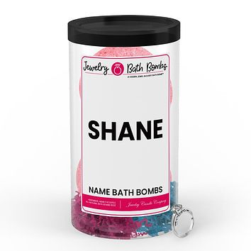 SHANE Name Jewelry Bath Bomb Tube