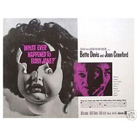 Whatever Happened To Baby Jane Vintage Movie Poster