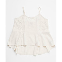 O'neill Love Song Girls Tank Cream  In Sizes