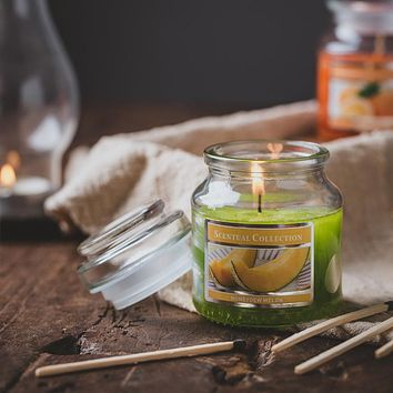 Aromatherapy Candles Soothe The Nerves And Help Sleep Home Bedroom Long-Lasting Incense Nordic Large-Capacity External Single Multi-Flavor Fragrance