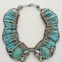 Talassemtane Statement Necklace  - Made in Italy