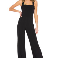 Theory Bustier Jumpsuit in Black