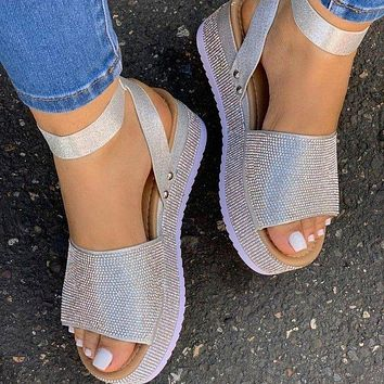 New style large size slippers casual women sandals
