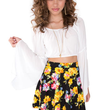 Amadee Floral Skirt