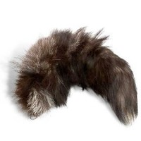 Extra Large Silver Fox Tail $19.95