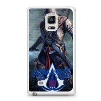Assassin's Creed 3D Action Video Game Samsung Galaxy Note Edge Case