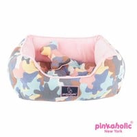 Delta House Dog Bed by Pinkaholic - Pink