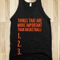 Things That Are More Important Than Basketball