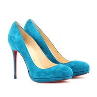 mytheresa.com -  Christian Louboutin - PUMPS FILO 120 IN SUEDE - Luxury Fashion for Women / Designer clothing, shoes, bags