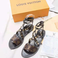 Louis Vuitton LV Casual flat-soled sandals