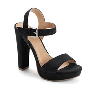LC Lauren Conrad Women's Platform High Heel Sandals
