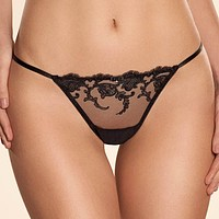 Sexy Sheer Lace G-String Panty Ajour Elegy