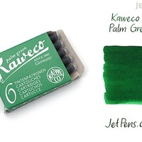 JetPens.com - Kaweco Palm Green Ink - 6 Cartridges