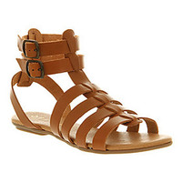 Office INCOGNITO TAN LEATHER Shoes - Womens Sandals Shoes - Office Shoes