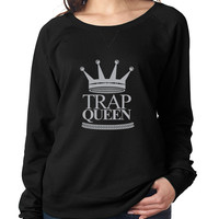 Trap Queen long sleeve Pullover women