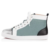 Christian Louboutin Cl Louis Men's Flat Version Everest Suede 18s Sneakers - Ready Stock