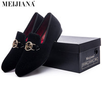 man shoes luxury 2016 Metal people buckle man shoes brand casual luxury  men's shoes casual loafers shoes fashion