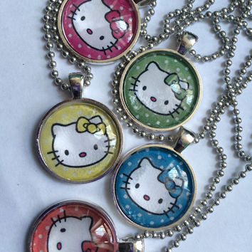 Cute Hello Kitty Necklace