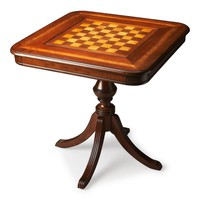 Morphy Traditional Square Game Table Medium Brown