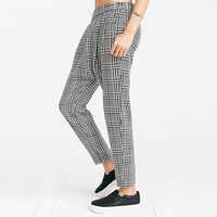 Casual Checkered Pants